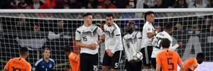 Германия сенсационно не сумела обыграть на своем поле Нидерланды в Лиге наций: видео