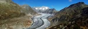"""""""Дайте нам шанс!"""": юные экологи со всего мира устроили флешмоб на самом длинном леднике Европы"""