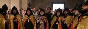 Армянская церковь не выступала против предоставления автокефалии Украине (исправлено)