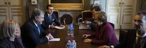 """Порошенко зустрівся з Меркель у Брюсселі: обговорили запровадження """"Азовського пакету санкцій"""""""