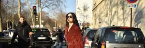 У замшевому платті і на підборах: новий вихід Моніки Беллуччі у Парижі – фото