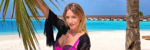Зарплаты украинца хватит на 16 минут, – Леся Никитюк похвасталась отдыхом на Мальдивах