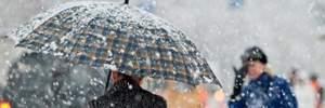Прогноз погоды на 24 января: Украину охватит мокрый снег и дождь