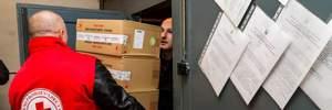 Допомога для окупованого Донбасу: Червоний Хрест направив велику партію гумдопомоги