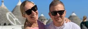 Італійські канікули: Катя Осадча і Юрій Горбунов поділилися знімками з сімейного відпочинку