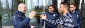 Фото дня: Мораес впервые надел форму сборной Украины