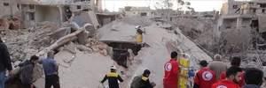 Российская авиация нанесла удар по сирийскому городу Идлиб