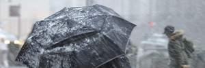 Прогноз погоди на 26 березня: у деяких областях буде холодно та очікується дощ зі снігом