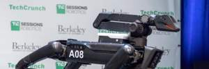 """На что способна """"упряжка"""" четвероногих роботов Spot: захватывающее видео"""