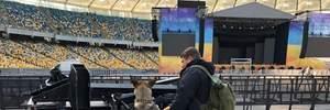 """""""Олимпийский"""" готовится к дебатам: что сейчас происходит на стадионе"""