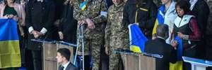 Дебаты Порошенко и Зеленского: как и перед кем кандидаты стали на колени