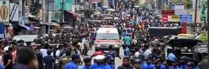 Серія вибухів у католицьких храмах на Шрі-Ланці: понад сотня загиблих і безліч поранених