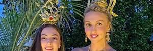Оля Полякова показала курйозне відео зі своїми доньками