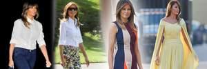 Перша модниця країни: як змінився стиль Меланії Трамп після виборів у США