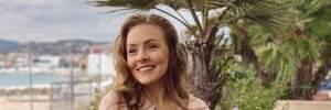 Олена Шоптенко покрасувалась на червоній доріжці Каннського кінофестивалю: розкішні фото