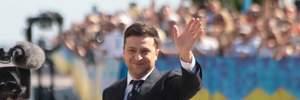 Володимир Зеленський привітався з українцями біля Верховної Ради: емоційні фото