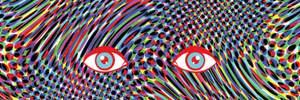 Ефект LSD у портретах: як змінювались роботи художника