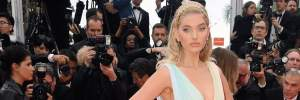 """""""Ангел"""" Victoria's Secret Ельза Госк заворожила розкішною сукнею у Каннах: фото"""