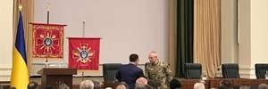 Полторак официально представил Хомчака: какие задания получил новый командующий Генштаба