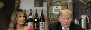 Мелания Трамп повторила образ Меган Маркл: фото