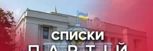 Парламентские выборы 2019: список партий