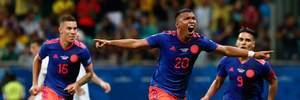 Аргентина неочікувано поступилася Колумбії на Копа Амеріка: відео