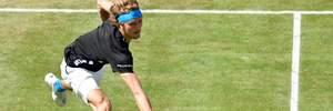 Німецький тенісист у карколомному стрибку відбив м'яч і виграв розіграш: відео