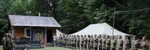 На Прикарпатье продолжается военно-патриотическая подготовка для детей: фото, видео
