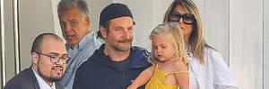 Отцовство как она есть: Брэдли Купер взял дочку на выходные после разделения опеки с Ириной Шейк