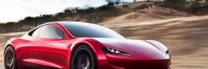 Электрокар Tesla Roadster получит реактивные двигатели: детали