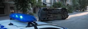 В Херсоне микроавтобус с бюллетенями перевернулся по дороге в ОИК: есть пострадавшие