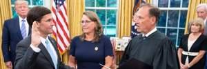 Новий глава Пентагону: Марк Еспер офіційно вступив на посаду міністра оборони США
