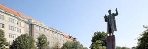 У Празі облили фарбою пам'ятник радянському маршалу: фото