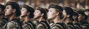 Вперше дівчата-танкісти присягнули на вірність українському народу: ефектні фото