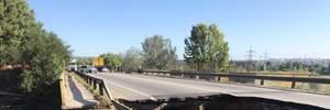 Автомобильный мост обрушился в Харькове: полиция открыла дело