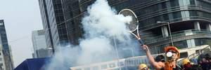 На протестах в Гонконге задержали десятки людей: среди них – ребенок