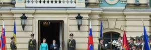 Зеленський проводить офіційну зустріч з президенткою Словаччини Чапутовою: усі деталі та фото