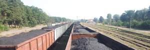 Активісти блокують російські вагони з вугіллям на Львівщині: деталі та фотодокази