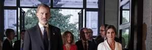 Королівська розкіш: Летиція постала перед публікою у білосніжній сукні