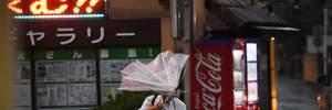 На Японию движется мощный тайфун Тапа: сотни рейсов отменены, уже есть раненые