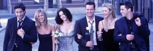 """""""Друзья"""" вместе: Дженнифер Энистон опубликовала селфи с актерами сериала"""