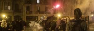 Як минула ніч протестів у Барселоні: фото, відео пожежі та сутичок з поліцією