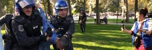 Протесты оппозиции в Баку: в городе отключили мобильную связь, десятки человек задержаны