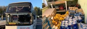 Велику контрабанду продуктів викрили на польському кордоні: фото