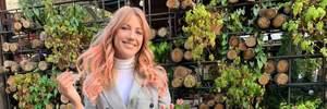 Страстный поцелуй Поляковой и танцы: как Леся Никитюк отпраздновала 32-летие