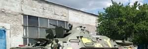 Чиновник закупил для полицейских БТР советские шины: спецтехника должна была ехать на Донбасс