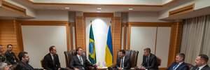 Зеленський зустрівся з президентом Бразилії: про що домовились