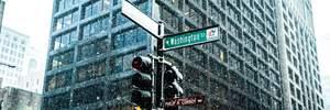 Чикаго рекордно засипало снігом: фото, відео
