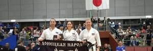 """Спортсмены под флагом террористов из """"ДНР"""" выступили на турнире в Японии: фото"""