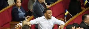 Беленюк показал депутатам прием самообороны: видео